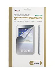 Clear Crystal Screen Guard/Protector w/ Cleaning Cloth for Android Tablet HTC Flyer