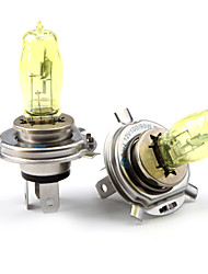 HOD H4 100/90W 2800K Ultra Bright Car Yellow Light Bulbs (DC 12V/Pair)