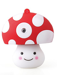 2gb cartoon funghi usb stick (bianco)