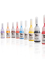High Quality 10 Color Tattoo Ink Set 10 x 5 mL