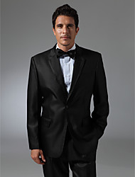 Single Breasted One-button Notch Lapel Side-vented Groom Tuxedo