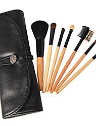 новых 7 шт мини макияж стартер щетка комплект набора