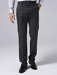 Navy Pinstripe Suit Pants