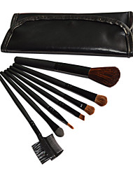 7 Makeup Brushes Set Others / Goat Hair / Nylon / Synthetic Hair Face / Lip / Eye
