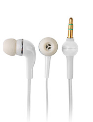 Elegant High-quality Earphones, 1.2m Cord, 3.5mm (White)