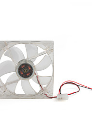 caso pc ventilador do gabinete 120 milímetros 4 liderada