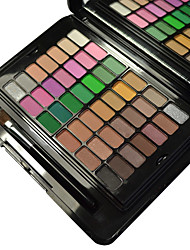 84 Colors Eye Shadow Professional Cosmetic Brush Set