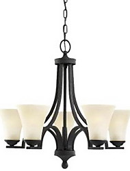 Max 40W Traditional/Classic Painting Chandeliers Living Room / Bedroom / Dining Room