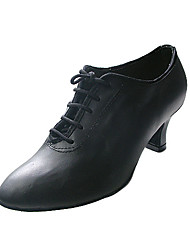 Ballroom Real Leather Upper Dance Shoes Practice Shoes for Women More Colors