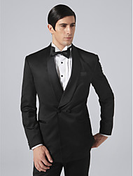 Custom Made Double Breasted Two-button Shawl Lapel Groom Tuxedo