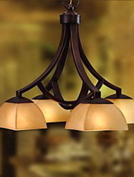 Antique Inspired Pendant Light with 4 Lights