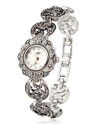 Aphrodite - Silver Sunflower Women Bracelet Watch Cool Watches Unique Watches