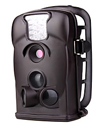 """Schwarz 12MP 2,36 """"LCD Outdoor-GSM Remote-Jagd-Kamera mit Nachtsicht-850nm"""