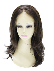 Lace Front 100% Human Hair Long Straight Hair Wig