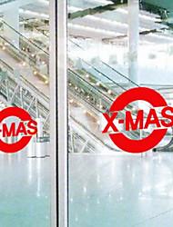 Christmas Decoration Wall Stickers Holiday Ornaments XMAS