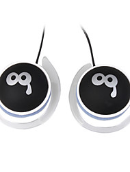 3.5mm Stereo QQ expression Headphones(Black)