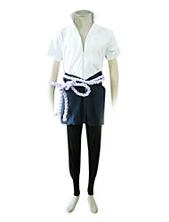 Shippden Naruto Sasuke Uchiha Cosplay Costume with Zipper