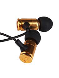 3,5 mm stéréo métal de mode balles dans-oreille headphone mp3/mp4