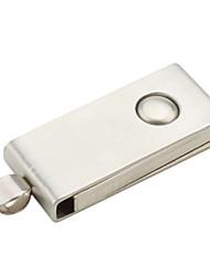 1gb estilo cromado usb flash drive (prata)