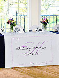 Table Centerpieces Personalize Reception Desk Table Runner - Simple Style  Table Deocrations