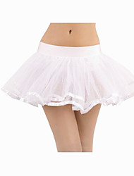 Ballet Tutus Women's Training Acrylic / Spandex Black / Pink / White Ballet / Performance Spring, Fall, Winter, Summer Natural