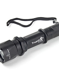 trustfire f16 3 modes SSC P7 LED Flashlight (900LM, 1x18650, noir)