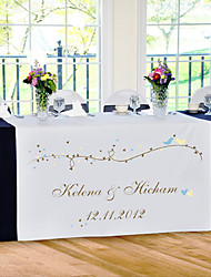 Table Centerpieces Personalize Reception Desk Table Runner - Spring  Table Deocrations