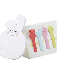 carino a forma di coniglio autoadesivo pad nota adesiva