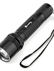 LED Flashlights/Torch Handheld Flashlights/Torch LED 1000 Lumens 5 Mode Cree XM-L T6 18650 Camping/Hiking/Caving