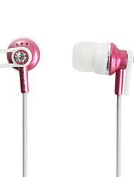 Maike mk-el520 estéreo de auriculares de botón (color rosa)