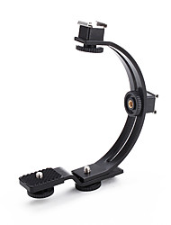 C-Shaped Stabilizing Handle for Camcorder Light and Flash (Black)