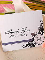 Thank You Card - Honorable (Set of 50)