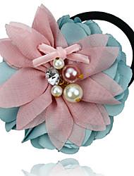 Dream Pastel Flower Hair Tie