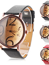 Women's Watch Fashionable Big Numerals Dial Cool Watches Unique Watches