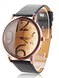 Women's Watch Fashionable Big Numerals Dial Cool Watches Unique Watches Strap Watch