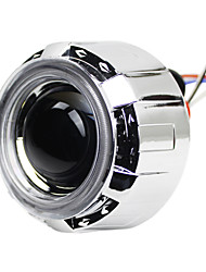 G240 Angel Eyes Xenon Headlights with Projector Lens, 2Pcs