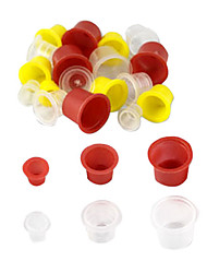 500 Pcs Mixed Tattoo Ink Cups