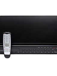 16 Channel DVR (H.264 Compression, iOS Support, Network Transmission)