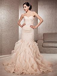 DICKLA - Vestido de Noiva em Organza e Renda
