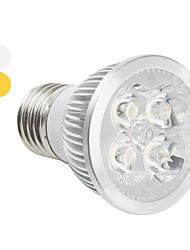 Faretti 4 LED ad alta intesità PAR E26/E27 4 W 360 LM K Bianco caldo/Luce fredda AC 85-265 V