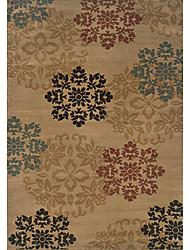 acryliques tapis tuftés avec motif flore 3 '* 5'