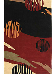 хохолком шерсти ковры области с художественным узором 3 '* 5'