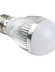 6W E26/E27 Ampoules Globe LED A50 3 LED Intégrée 510 lm Blanc Naturel AC 85-265 V