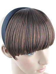 banda para la cabeza Bang estilo de pelo sintético - 4 colores disponibles