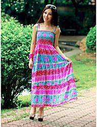 Chiffon Square Neck Maxi Dress (More Colors)