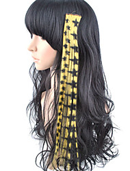 10 Pcs Clip In Highlight Star Synthetic Hair Extensions - 5 Colors Available