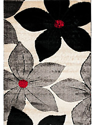 Wool Tufted Area Rugs with Floral Pattern 3'*5'