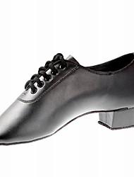 Leatherette Ballroom Dance Shoes For Men/Kids
