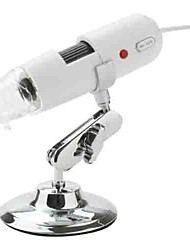 200X  1.3 Mega Pixel USB Digital Microscope Magnification Ratio with 8 LED