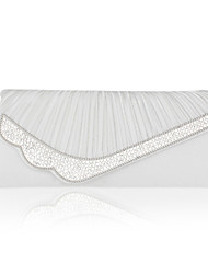 Satin With Crystal/Rhinestone Wedding/Evening Handbag/Clutch